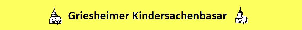 Griesheimer Kindersachenbasar